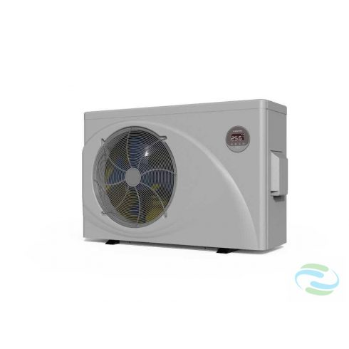 Microwell HP-1500Green Inverter Pro kompakt inverteres medence-hőszivattyú R32-es gázzal, 15Kw teljesítménnyel.