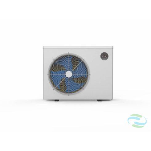 Microwell HP-2100Green Inverter Pro kompakt inverteres medence-hőszivattyú R32-es gázzal, 24,2Kw teljesítménnyel.