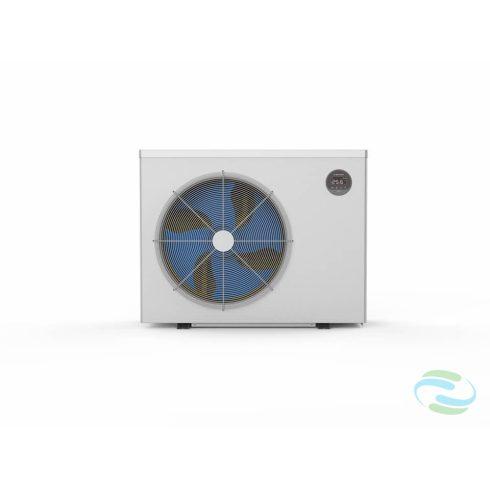 Microwell HP-2700Green Inverter Pro kompakt inverteres medence-hőszivattyú R32-es gázzal, 31,6Kw teljesítménnyel.