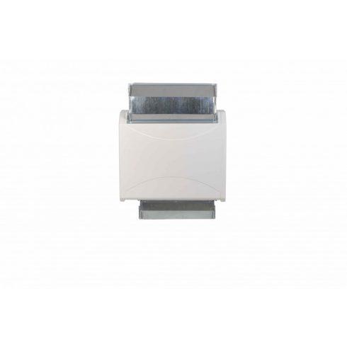 Microwell DRY  Légcsatorna elemek, díszrácsokkal ellátva. Beltéri, falon keresztüli telepítéshez.